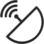 antenna, conection, router, signal, wifi, wireless icon